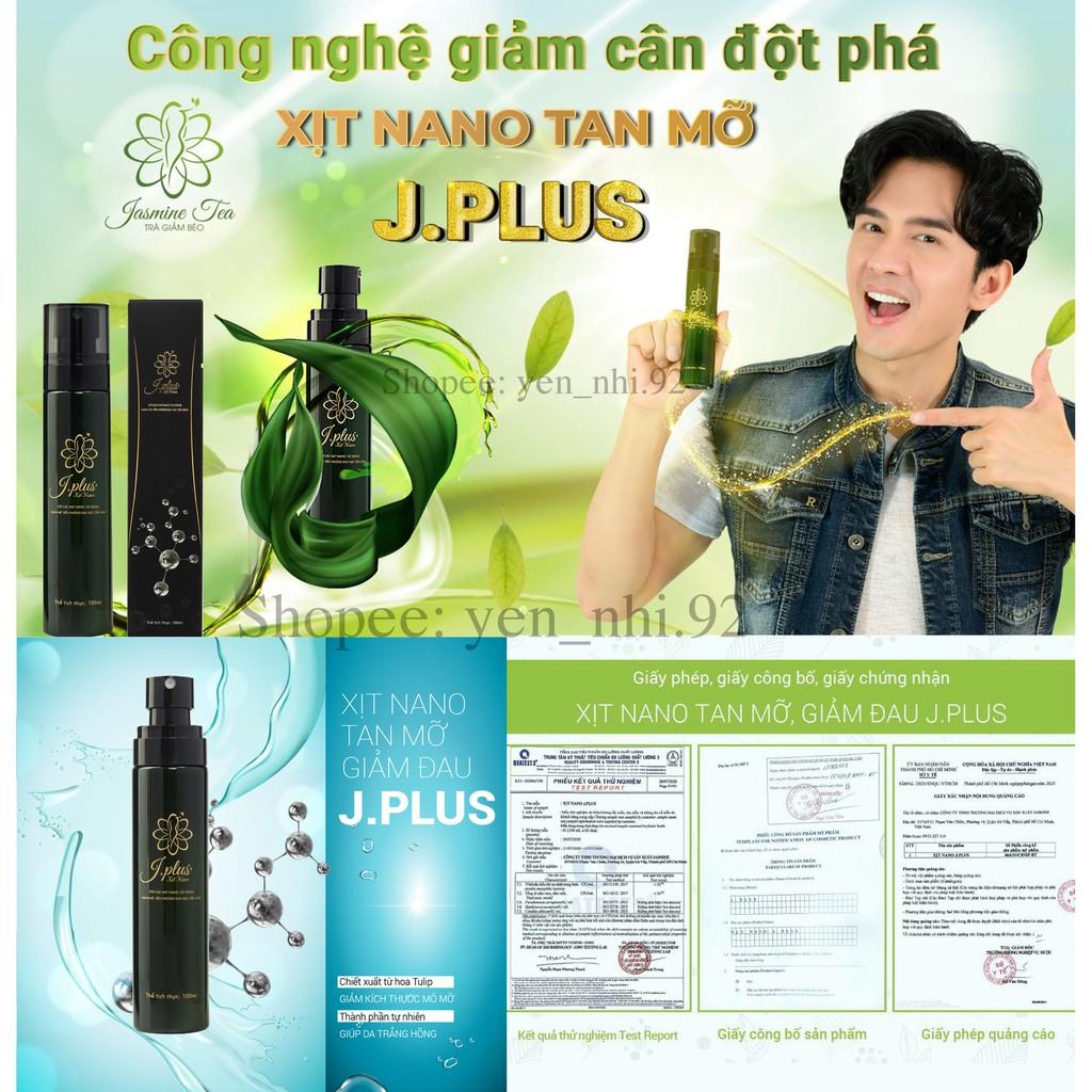 xịt nano J Plus