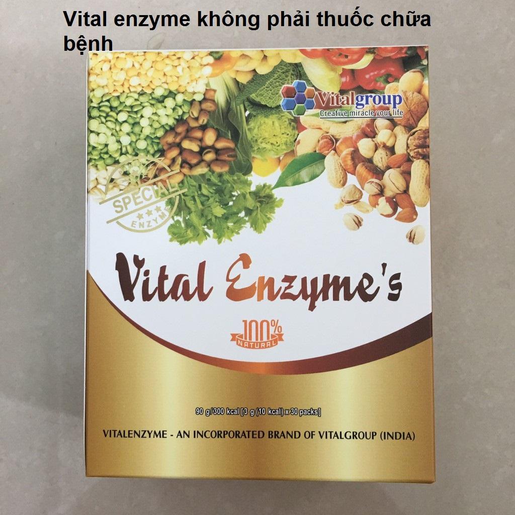Vital enzyme không phải thuốc chữa bệnh