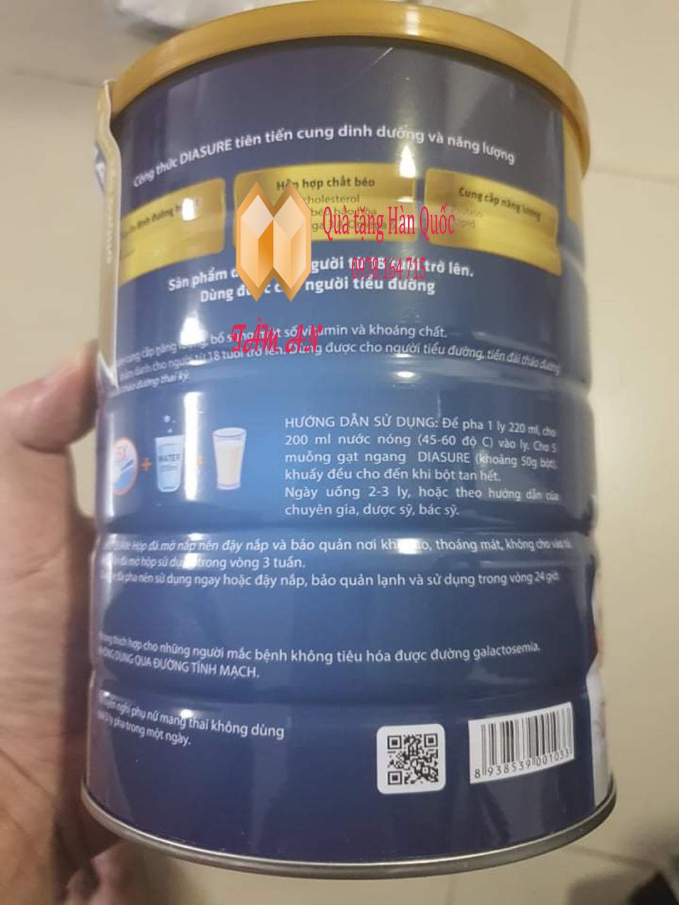 Sữa non diasure tác dụng gì