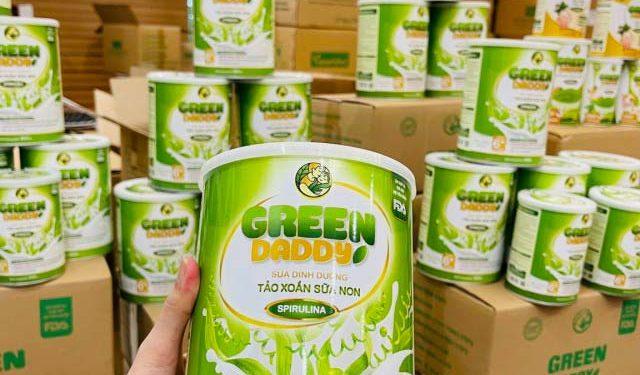 Sữa non tảo xoắn Green daddy